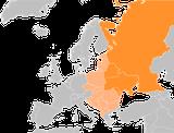 Karte, Osteuropa